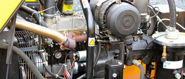Fahrbarer Dieselkompressor